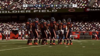 Madden New England Patriots @ Chicago Bears Week 7 2018 CPU 1st Half