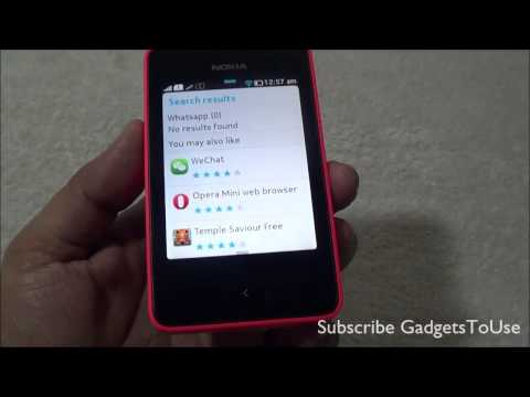 Install Whatsapp Alternative Apps For Nokia Asha 501