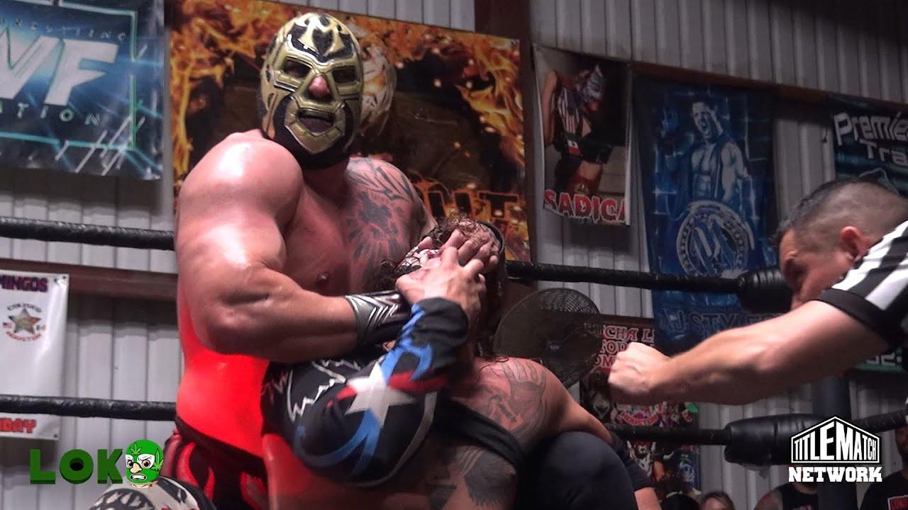 Mil Muertes vs El Cuervo de Puerto Rico - Loko Wrestling - Title Match Network