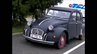 rassemblement de voitures anciennes Le Coudray-Montceau