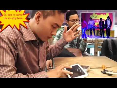 DJ ivent launcing 4G indosat ooredoo
