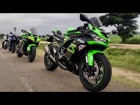 SuperBikes Of Bangalore | Breakfast Ride | ZX6R Is The Highlight