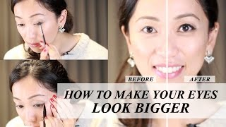 How To Make Your Eyes Look Bigger, bigger eyes