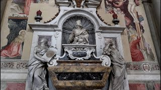 #1152 Graves of MICHAELANGELO, Galileo, Marconi & Donatello - Florence Italy - Travel Vlog (10/2/19)
