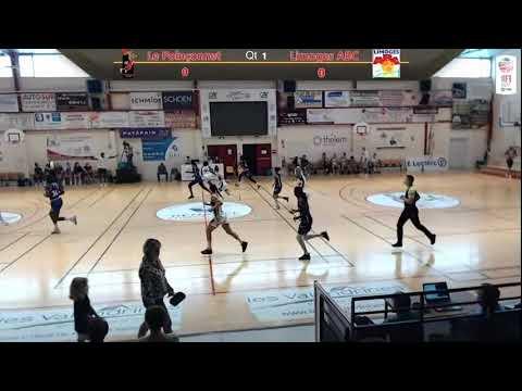 Le Poinçonnet Basket (NF1) vs Limoges ABC (Nf1)