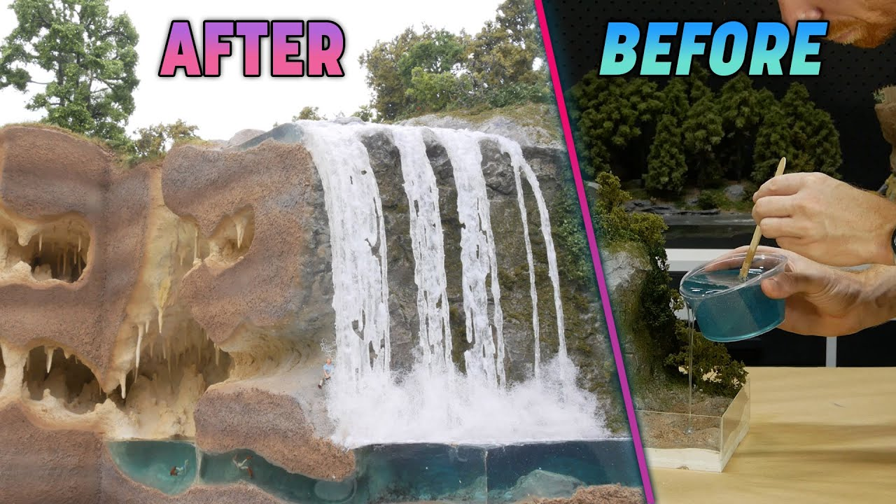 An Amazing Waterfall with a Secret – Realistic Scenery Vol.26