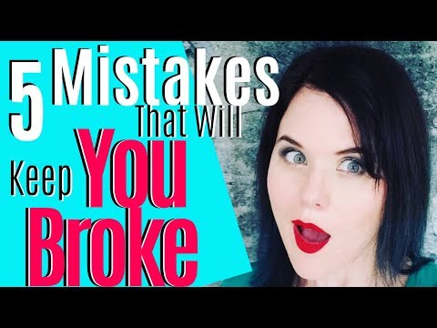Social Media Marketing Tips | 5 Mistakes That Will Keep You Broke