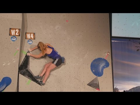 Boulder World Cup Meiringen - Finals 2016