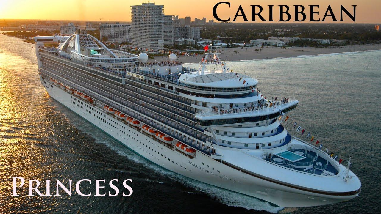 Caribbean Princess departing Fort Lauderdale on
