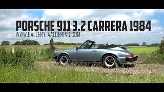 PORSCHE 911 3.2 CARRERA CONVERTIBLE - 1984 | GALLERY AALDERING TV