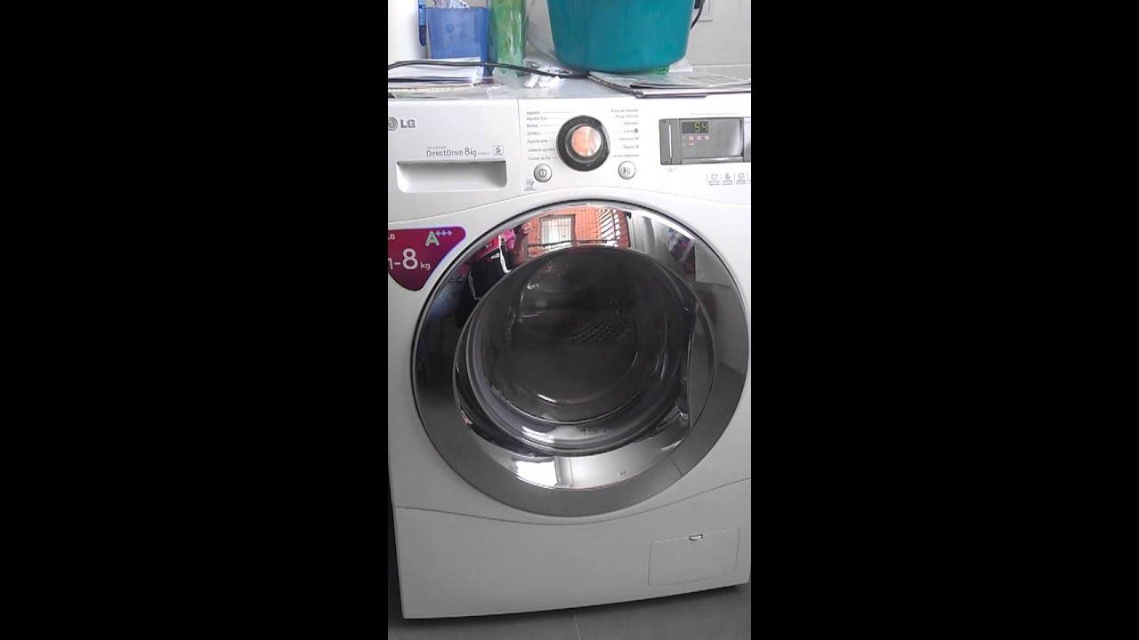 Ruido raro lavadora lg f1294td youtube - Opinion lavadoras lg ...