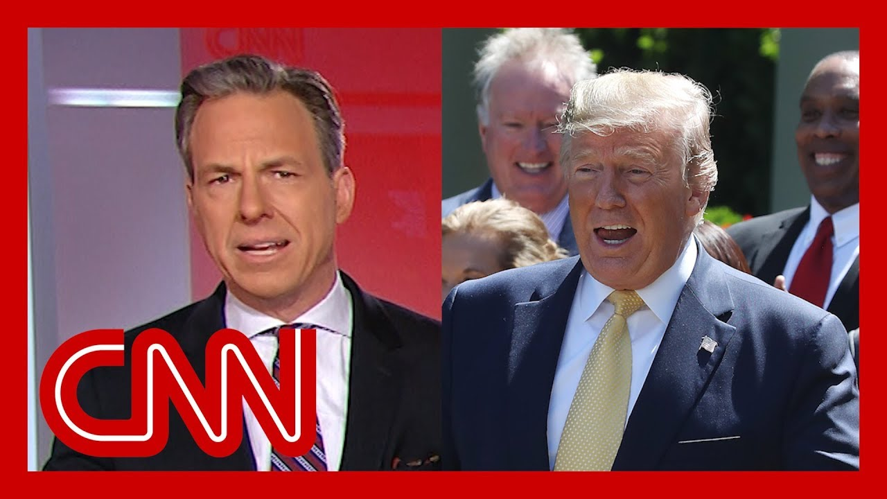 CNN:Jake Tapper: Trump is ringing in his birthday with this gift