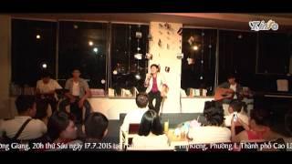 [TCoffee]  Người hát tình ca - Vọng Thư (Acoustic - Minishow Trường Giang)