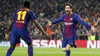 Barcelona vs Chelsea [3-0], Champions League 2018, 2nd Leg - Match Analysis