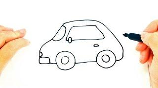 Cómo dibujar un Coche o Carro Fácil   Dibujo fácil de Coche o Carro