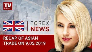 InstaForex tv news: 09.05.2019: JPY rises, but USD asserts strength (USDX, JPY, AUD, GOLD)