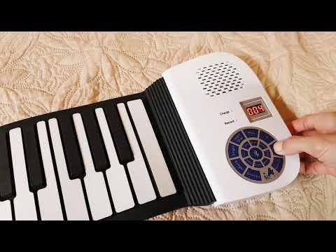 Гибкие клавиши. ОБЗОР. Мне купили пианино!