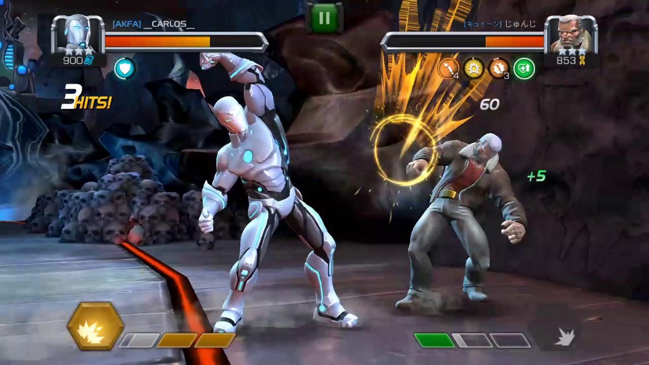 Gammel Mann Logan Iron Man