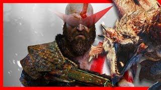 GOD OF WAR #7 MONSTER HUNTER [PS4 Pro]