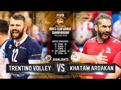 Trentino Volley vs. Khatam Ardakan   Highlights   FIVB Club World Championship 2018