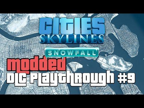 Cities Skylines Snowfall DLC Modded 9 |