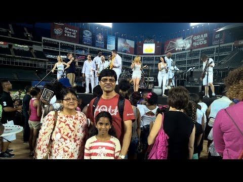Santanders Party at Texas Ranger Stadium- for Employees and Family