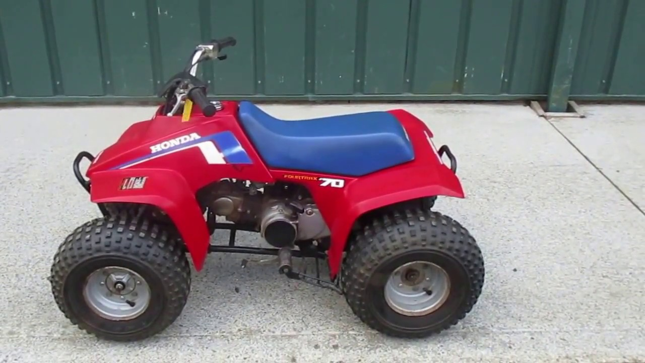 For Sale 1986 Honda Trx 70 Fourtrax Clean Kids Quad  1500