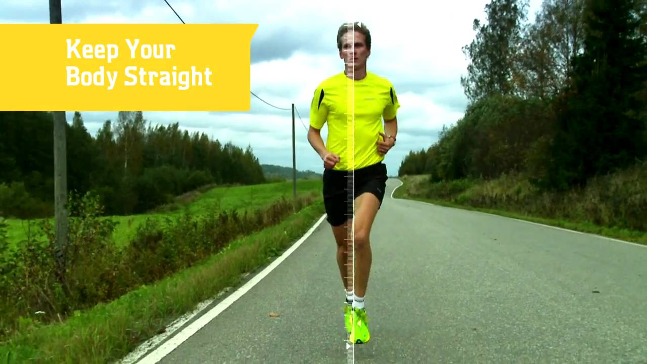 knee and quad position forward running tips youtube