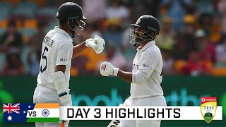 Download India lower order frustrates Aussies with Test evenly poised   Vodafone Test Series 2020-21