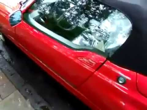 brilliant bmw z1 car door opening mechanism youtube. Black Bedroom Furniture Sets. Home Design Ideas