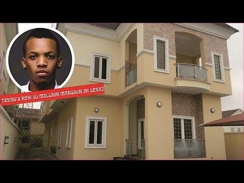 TEKNO new 80 million naira mansion in lekki, Lagos in 2018