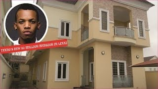 TEKNO new 80 million naira mansion in lekki, Lagos in 2020