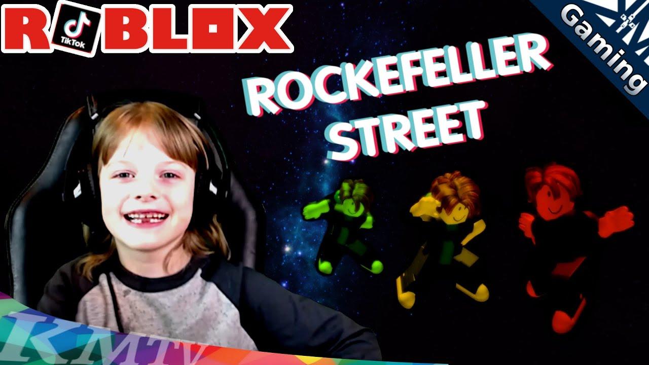 Roblox Rockefeller Street, Rocking Out to the Nightcore Remix! Thanks TikTok