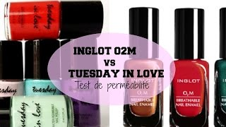 Halal Nail Polish  | Inglot O2M V Tuesday In Love Thumbnail