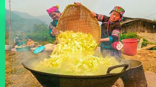 Village Army Cooks IMPOSSIBLE Tribal Wedding Feast!!! | TRIBAL VIETNAM EP1