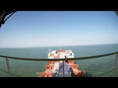 Arrival Port Qasim,Pakistan Maersk Container Vessel