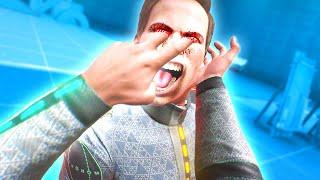 CRAZY STRENGTH MOD that WRECKS HIM in Boneworks VR Mods