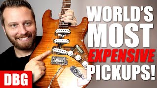 Playing The Most EXPENSIVE Pickups in the World! - Are They Worth It??