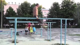 Сальто под жердями на 180 [Николай Шевченко]