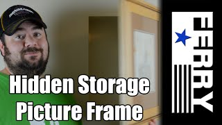 Ⓕ Hidden Storage Picture Frame (ep14)