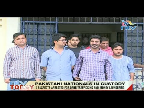 Nine Pakistani nationals in custody over alleged drug trafficking and money laundering