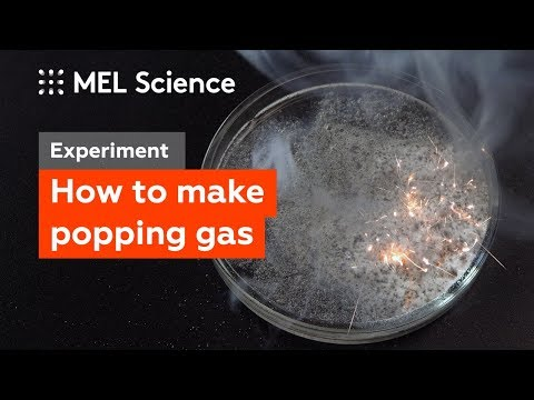 How to obtain clapping gas (Experiment with explosive silane gas)
