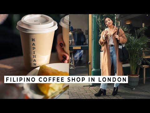 Filipino Coffee shop serves PALAWAN Honey Latte, better than Starbucks?! | KAPIHAN, London ...