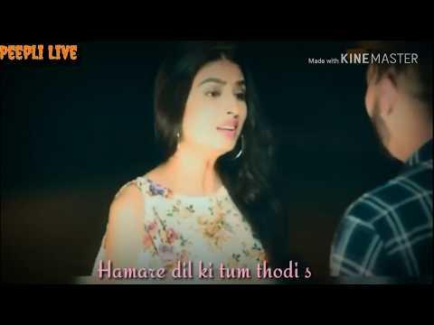 New Romantic Status | New Hindi Ringtone Status || Peepli Live