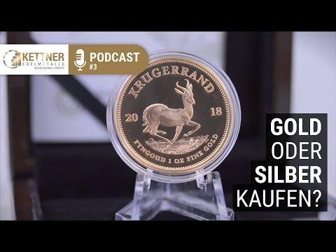 Gold oder Silber kaufen? (Podcast #3)