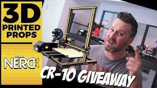 CR-10 3D Printer Giveaway + 2 Channels you should be watching!!