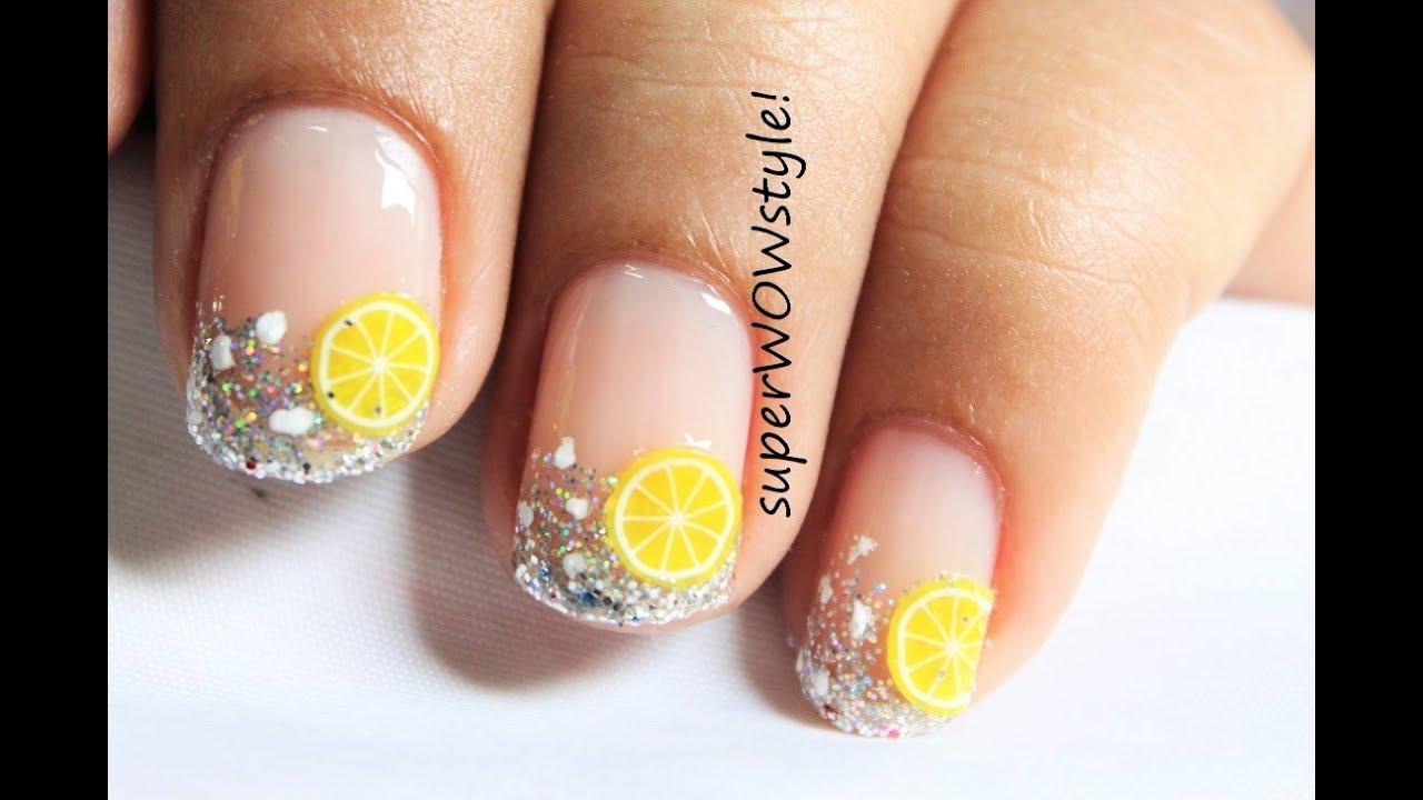 cocktail nail art design beginners