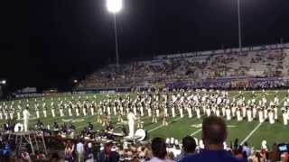 The 2014 University of North Alabama Mass Band Extravaganza