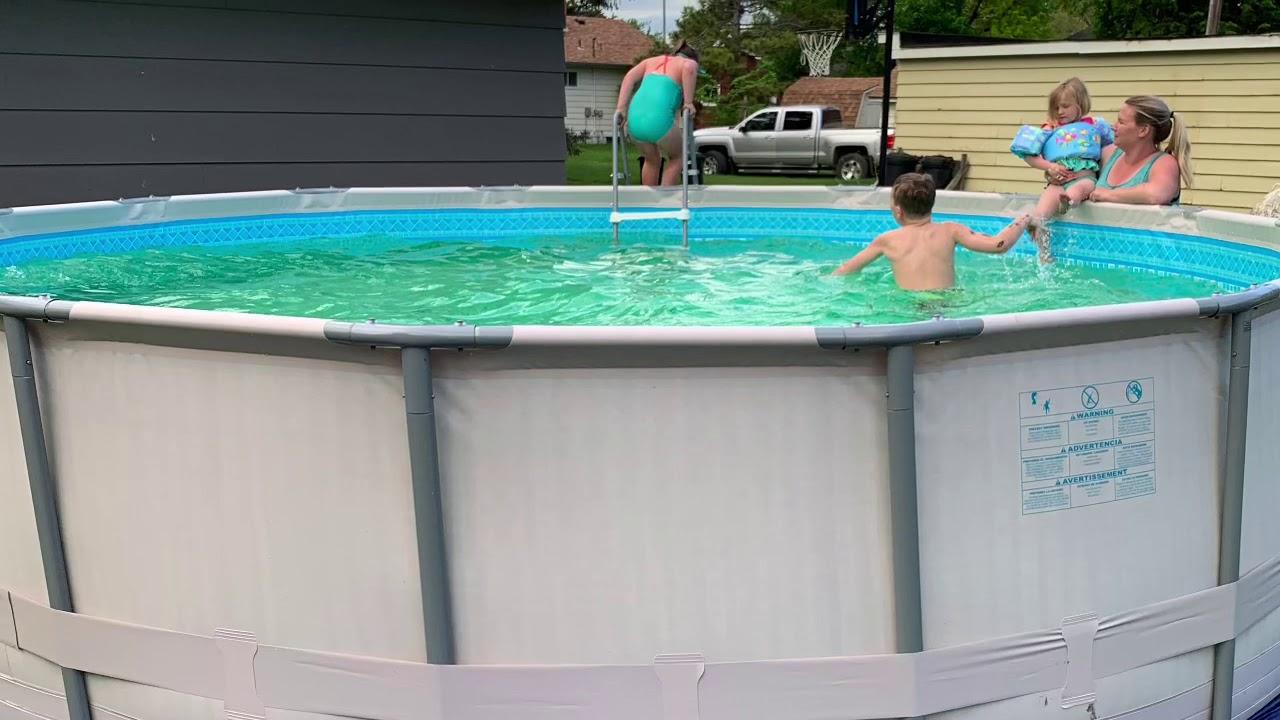 Summer Waves 16x48 Elite Frame Pool Week 1 2 Update Youtube