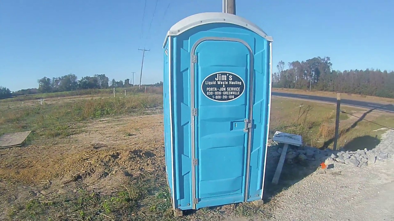 Porta potty review new home construction greenville for Home builders greenville nc